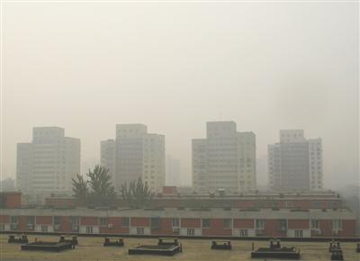 北京空气今日持续重度污染 3日内难改观 (图)
